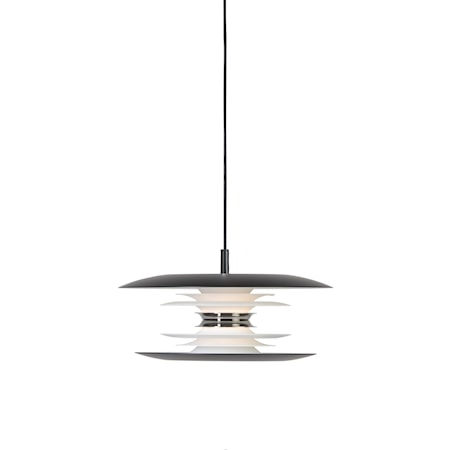 Diablo Pendel Mattsvart LED 30 cm