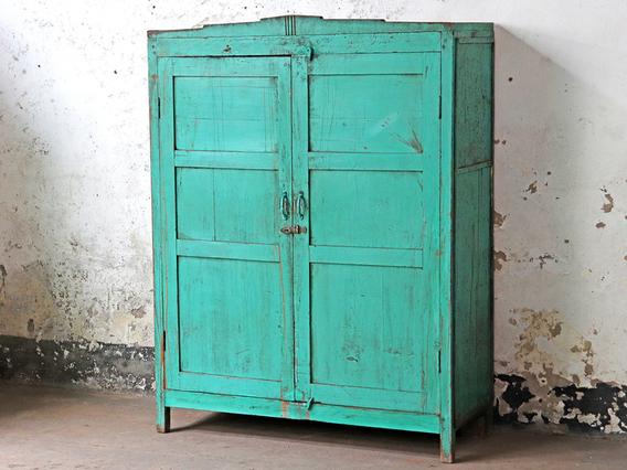 Rustic Bedroom Wardrobe Green