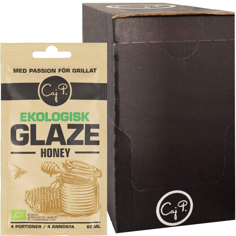 """Laatikollinen Luomu """"Honey Glaze"""" 20 x 60ml - 90% alennus"""
