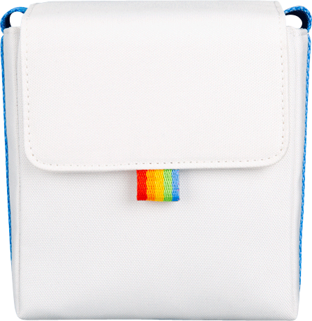 Polaroid - Now Bag For Poloraid Camera - White/Blue