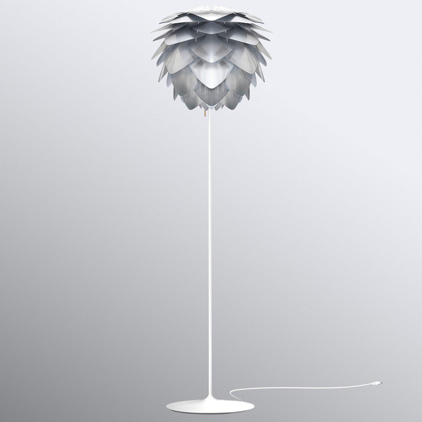 UMAGE Silvia medium gulvlampe stål
