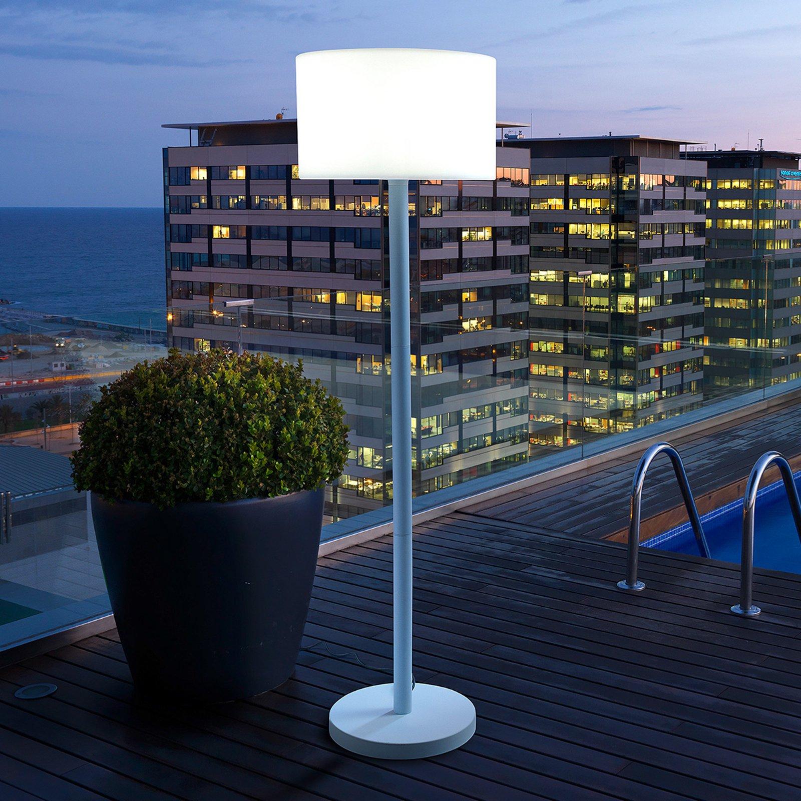 Smooth herlig gulvlampe for utendørs