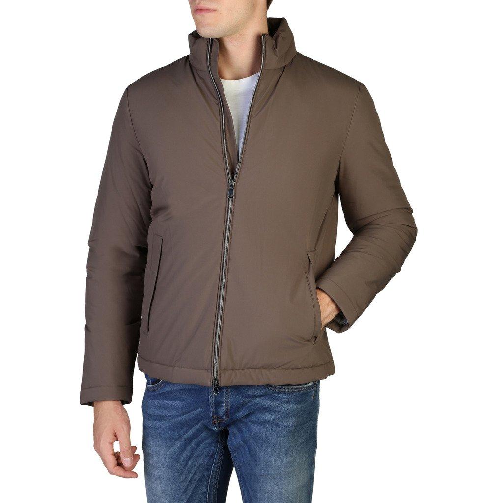 Geox Men's Jacket Brown M8428MT2504 - brown 54