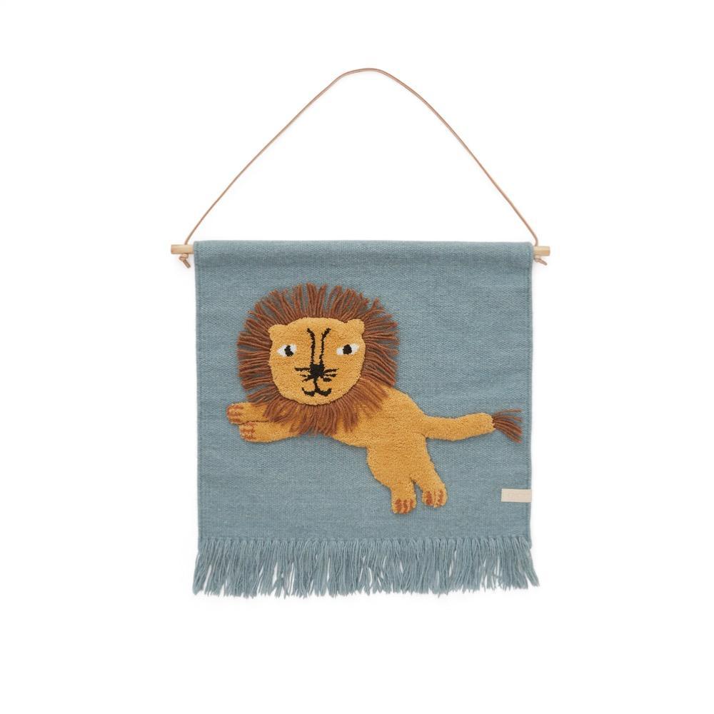 OYOY Mini - Wallhanger - Jumping Lion