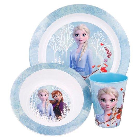 Disney Frozen 2 Lunch-sett Microvennlig, 3-pack