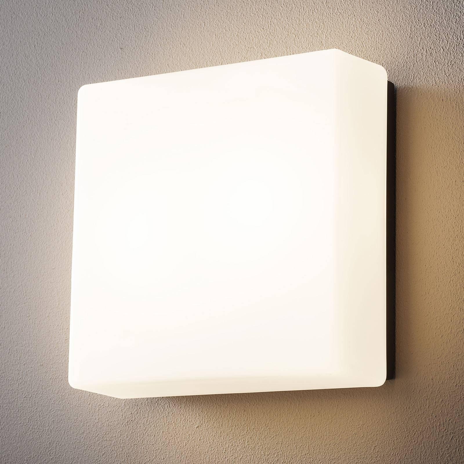 BEGA lysbyggestein 38302 LED-vegglampe 32x32 cm