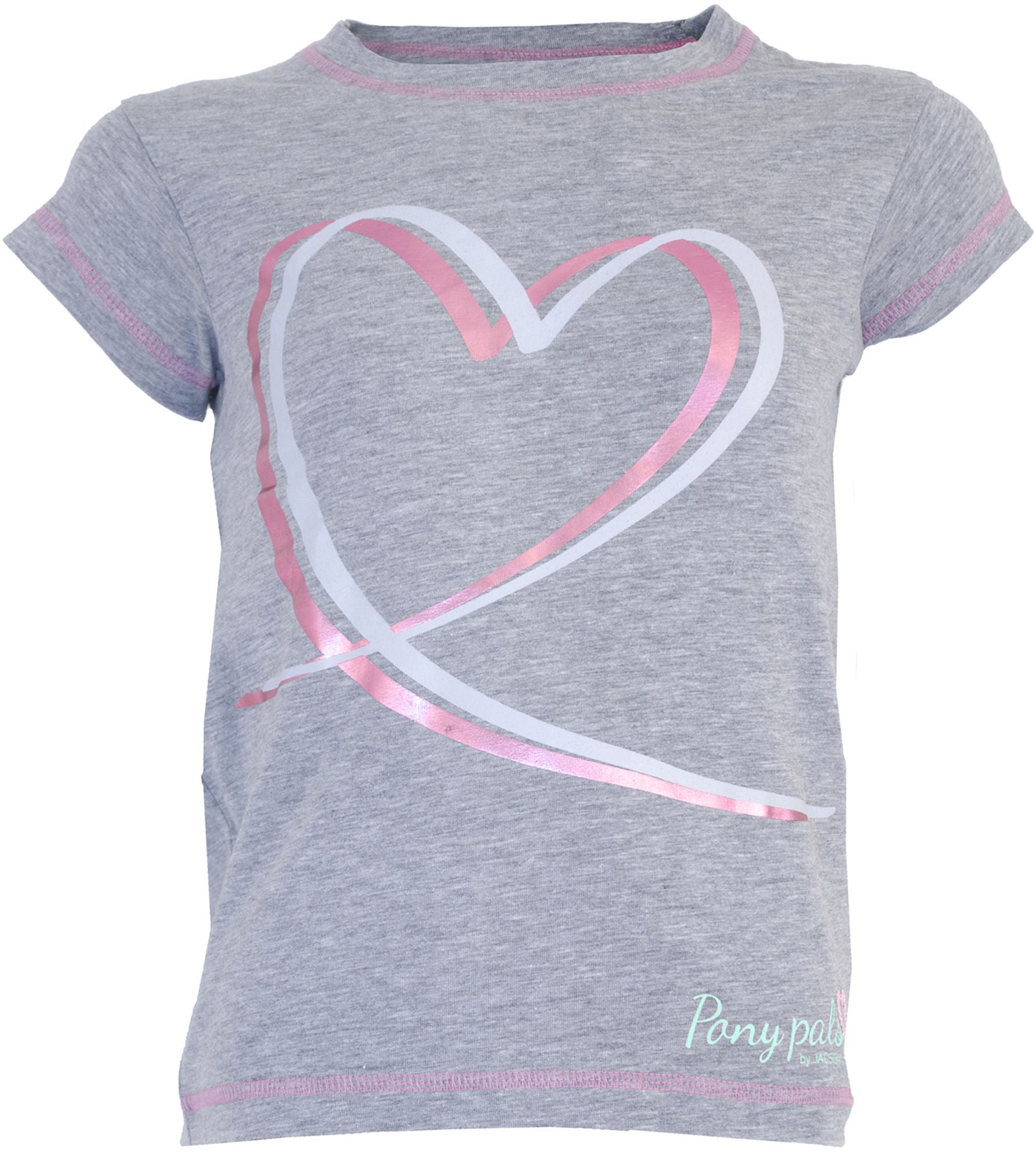 Jacson Pony Pals T-shirt, Grå 110