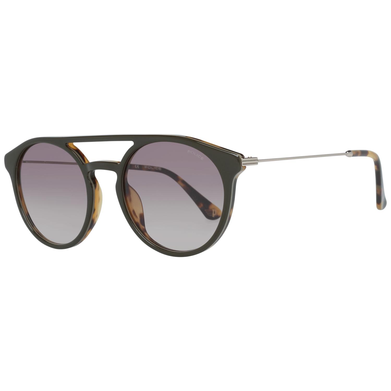 Police Men's Sunglasses Brown SPL722 5306E3