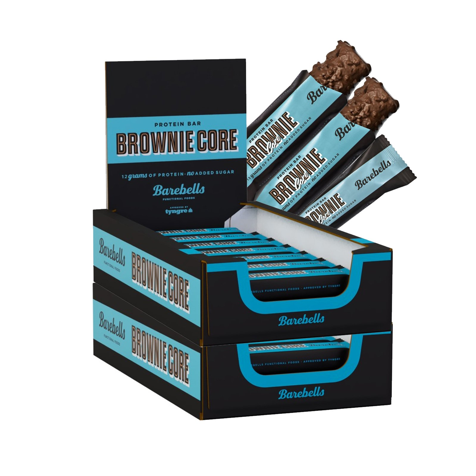 Proteinbars Brownie Core 36-pack - 50% rabatt