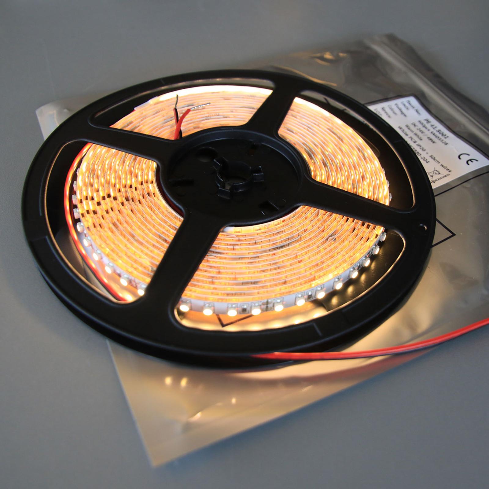 LED-nauha Mono 600 lämmin valkoinen 2900K IP20 48W