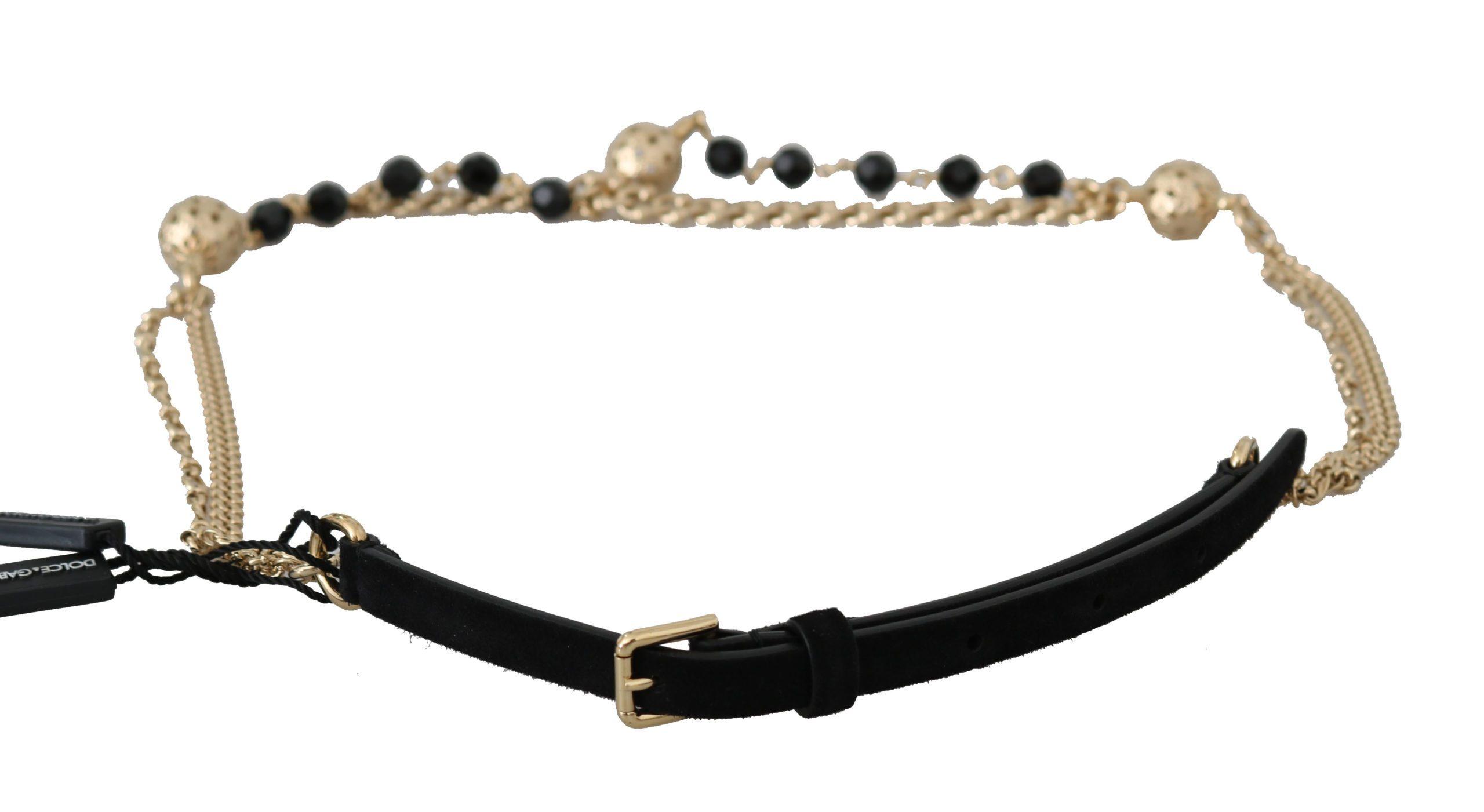 Dolce & Gabbana Men's Belt Black BEL60327 - M