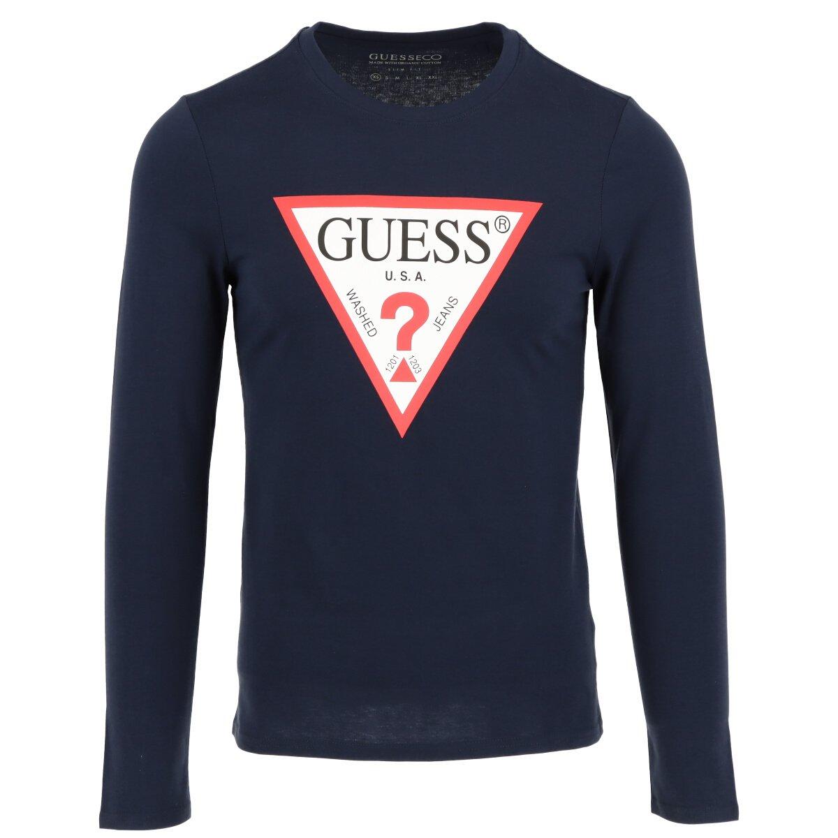 Guess Men's Sweater Various Colours 307136 - blue XS