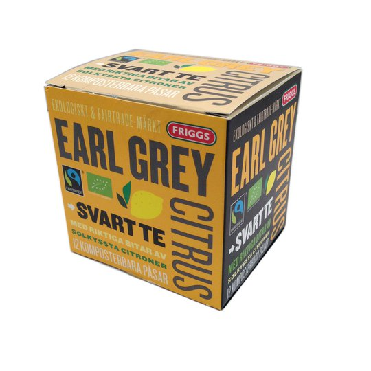 Te, Earl grey citrus - 50% rabatt
