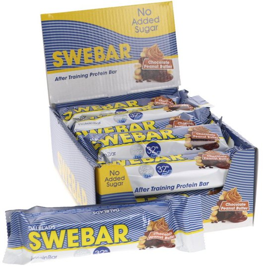 Proteinbars Jordnötssmör Choklad 15-pack - 30% rabatt