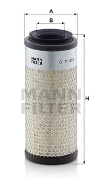 Ilmansuodatin MANN-FILTER C 11 003