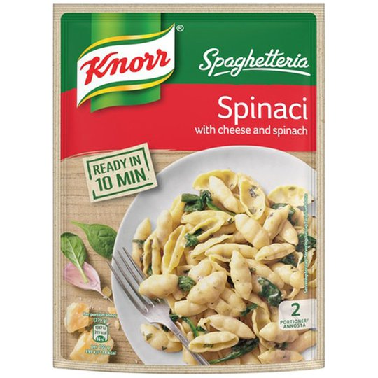 """Pasta """"Cheese & Spinaci"""" 160g - 25% rabatt"""