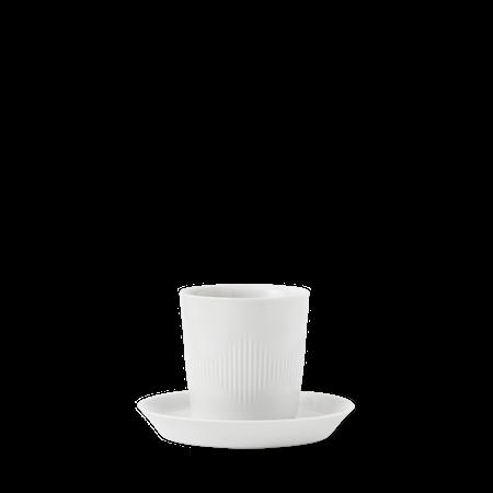 Thermodan Termokopp med fat Hvit Porselen 12 cl