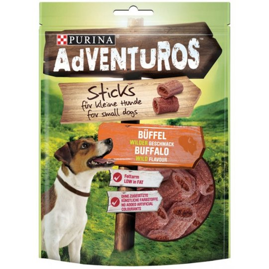 Purina Adventuros Mini Sticks Buffel 90 g