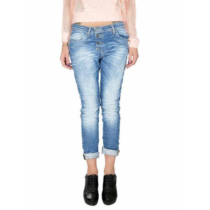 Please Women's Jeans Blue 164686 - blue XXS