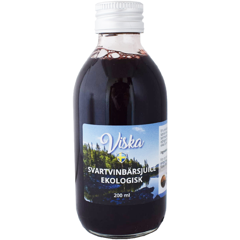 Eko Svartvinbärsjuice - 24% rabatt