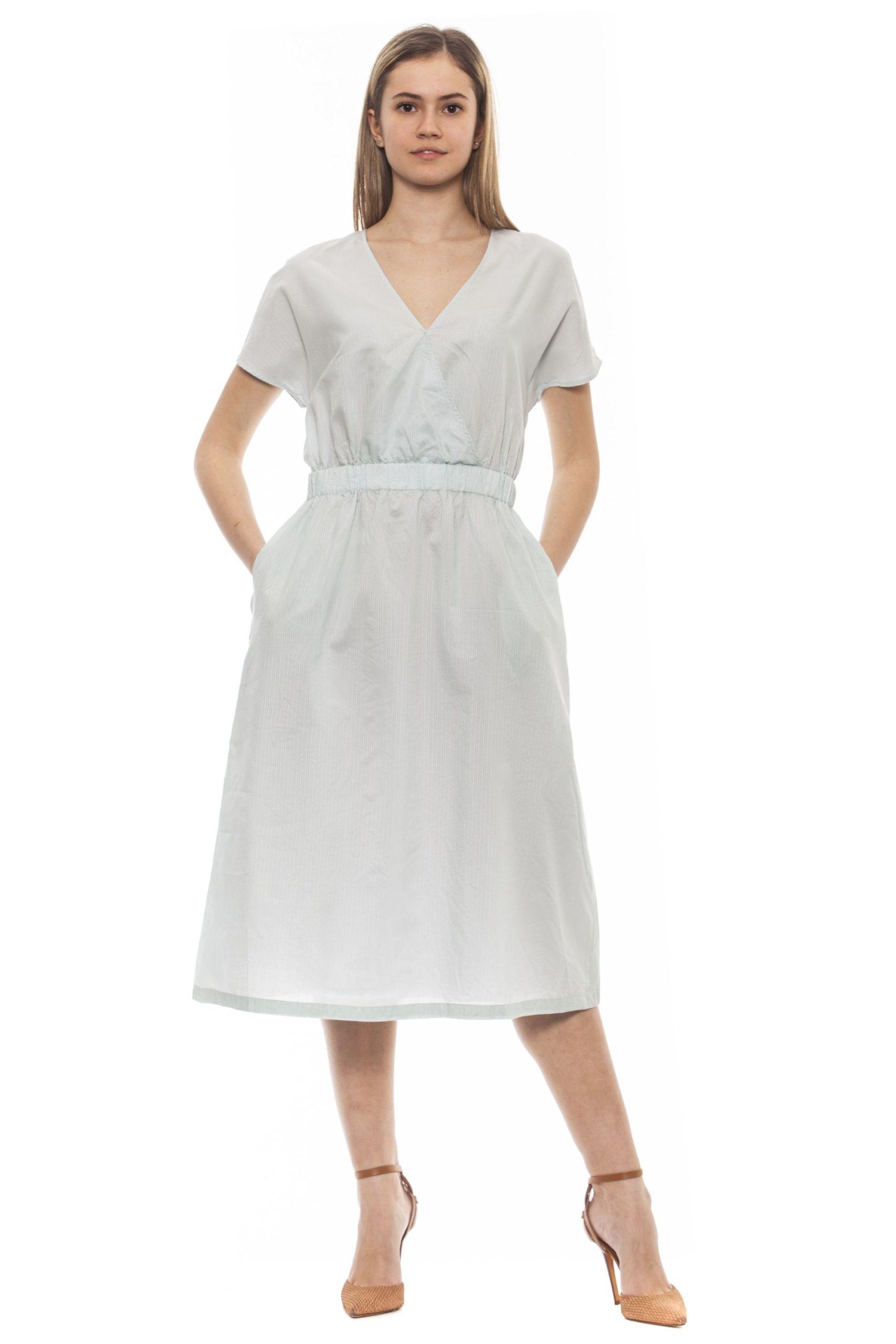 Peserico Women's Verde Dress Green PE1383222 - IT42 | S