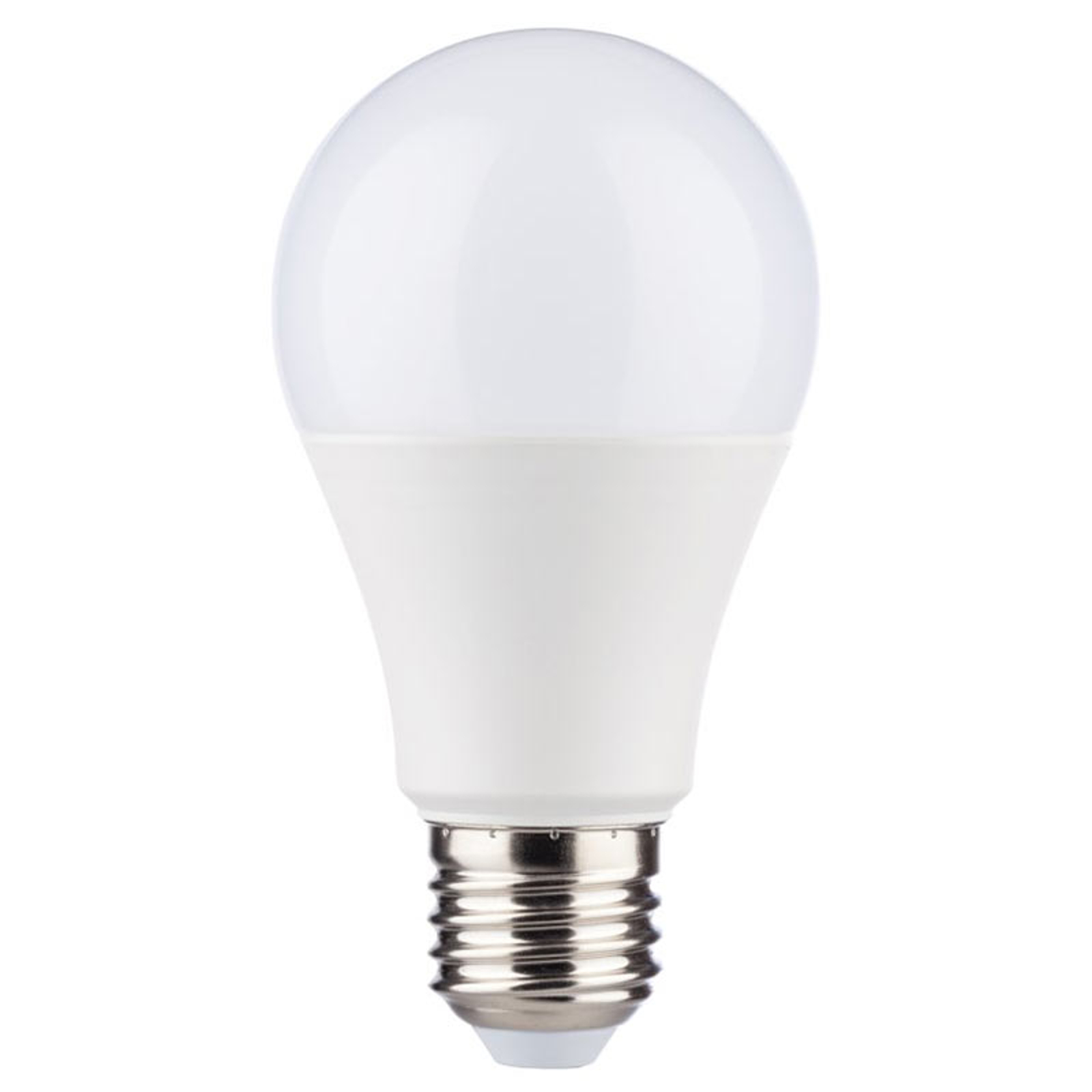 LED-lamppu E27 6 W 4.000 K, 470 lm tunnistimilla