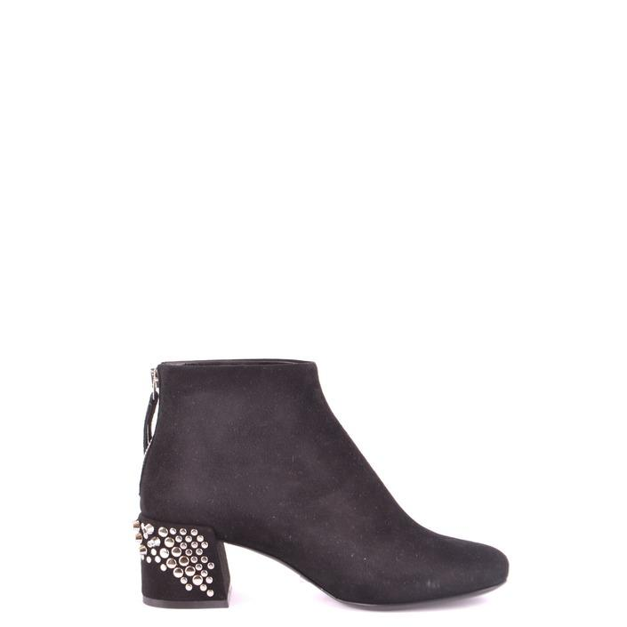 Alexander Mcqueen Women's Boot Black 164347 - black 36