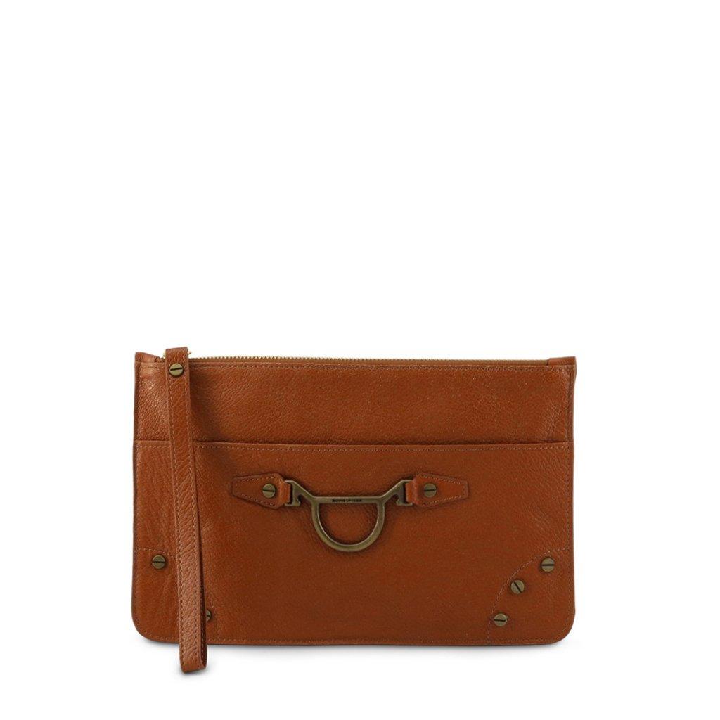 Borbonese Women's Clutch Bag Various Colours 962001-526 - brown-1 NOSIZE