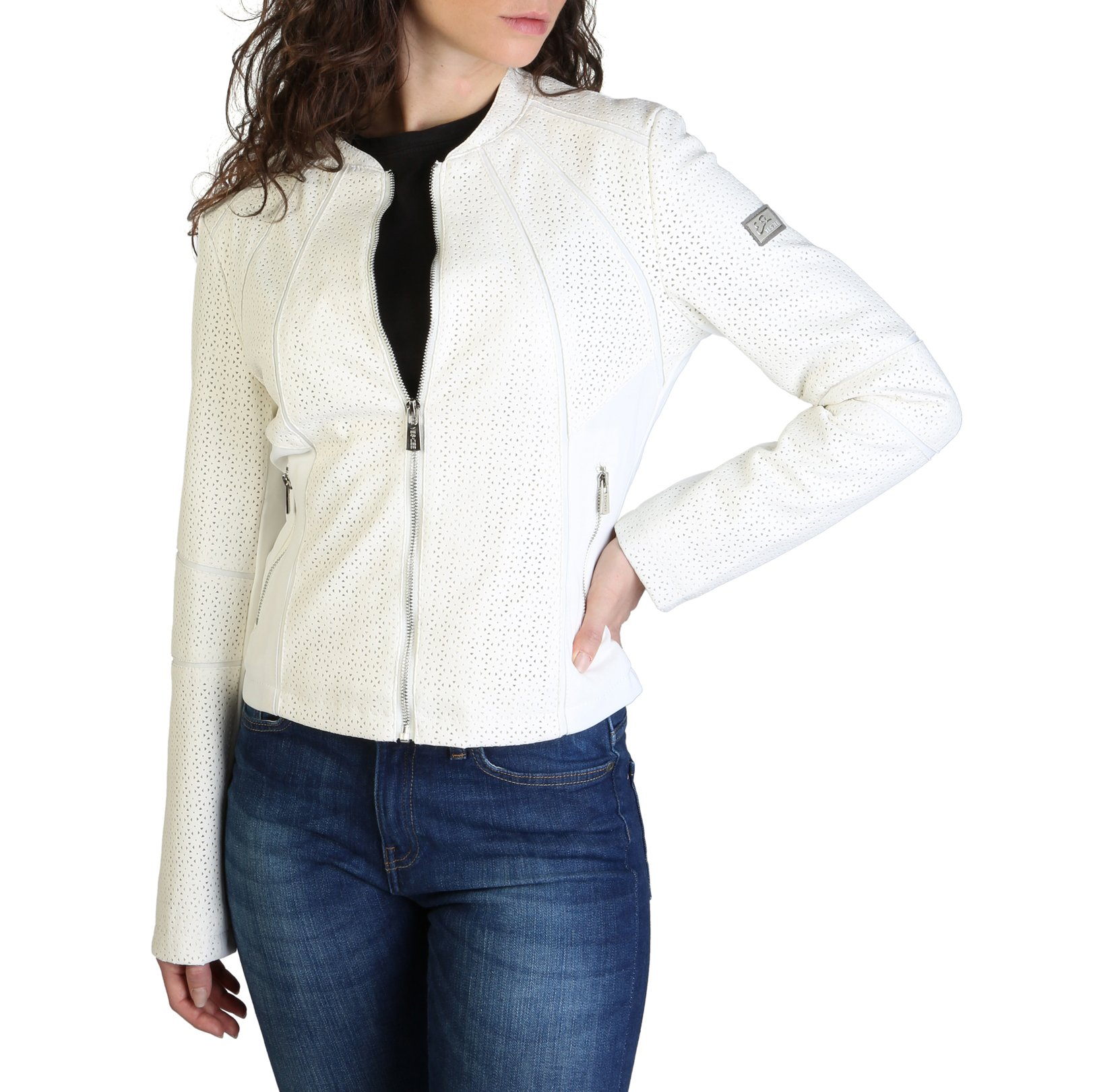 Yes Zee Women's Jacket Various Colours J405_G1FO - white XS