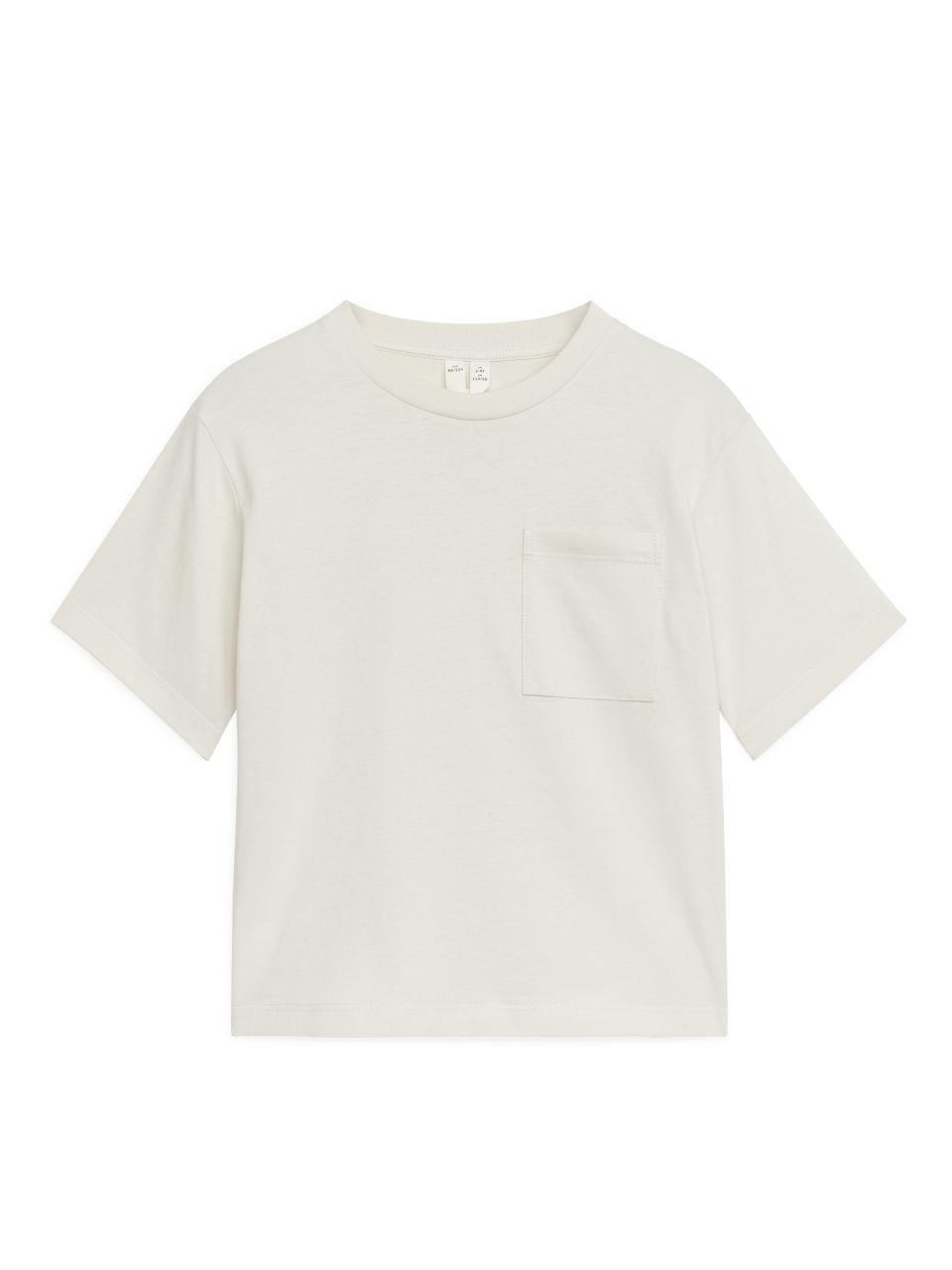Loose Fit T-Shirt - Beige