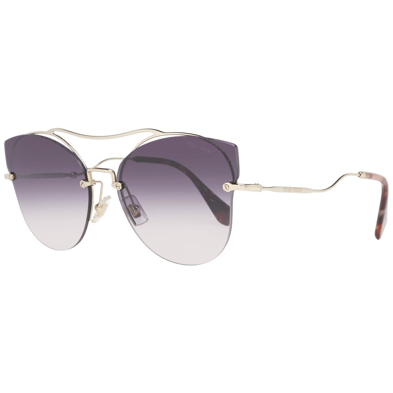 Miu Miu Women's Sunglasses Gold MU52SS 62ZVNGR0