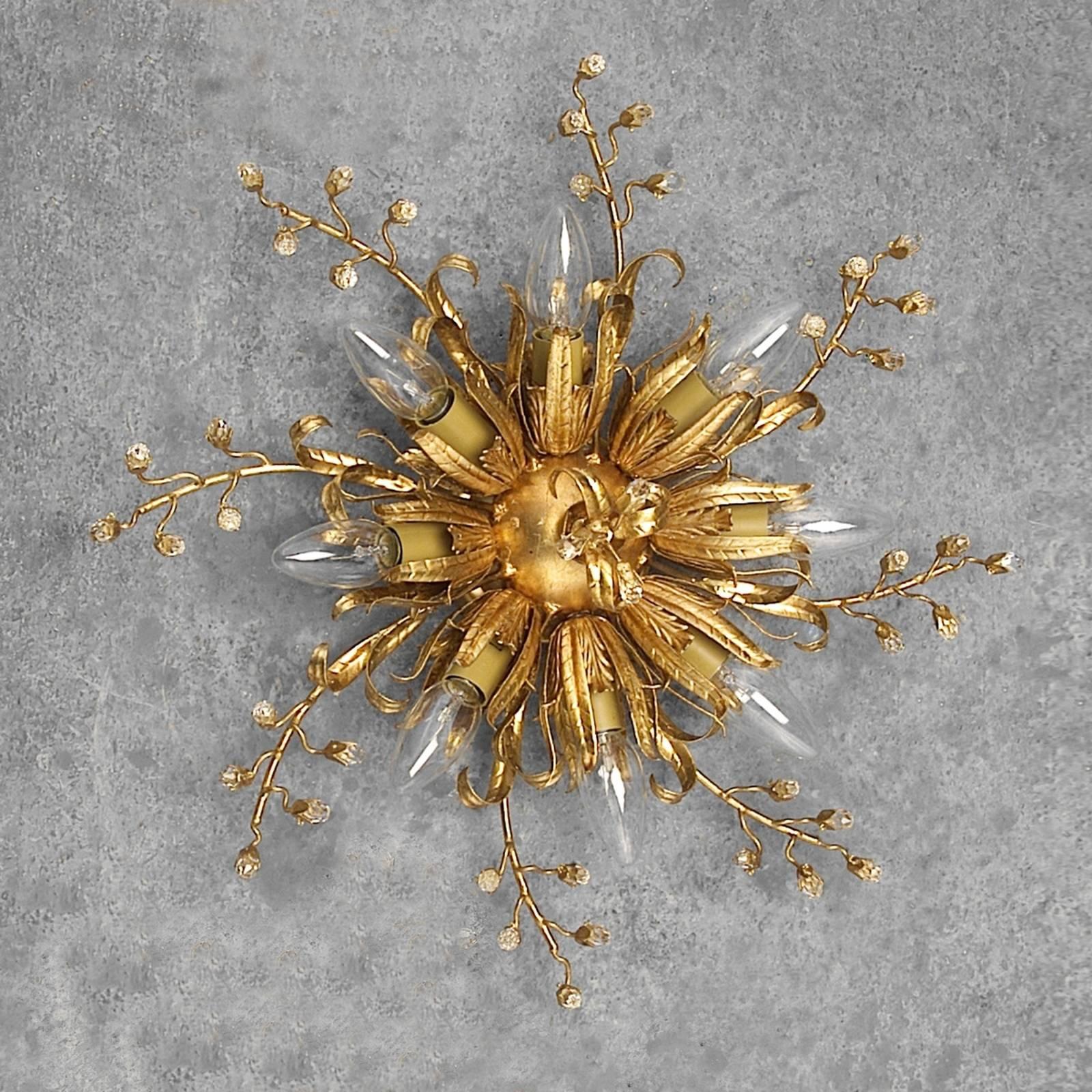 Vaikuttava kattovalaisin LATINA 8-lamppuinen