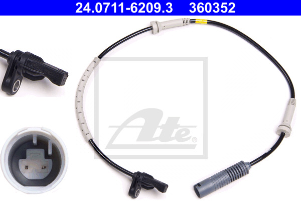 ABS-anturi ATE 24.0711-6209.3