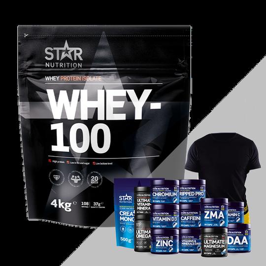 Whey-100, 4 kg + Bonus Product!