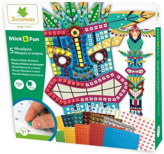 Sycomore Stick'n Fun Masker og Totempæler