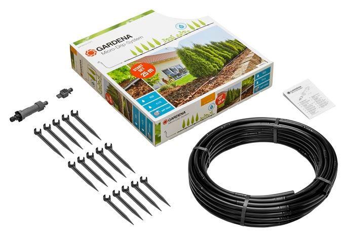 Gardena Vanningssystem Startsett Micro-Drip-System M for Planterader uten Timer