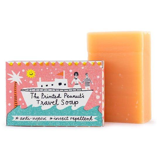 The Printed Peanut Natural Handmade Travel Soap Bar, 95 g