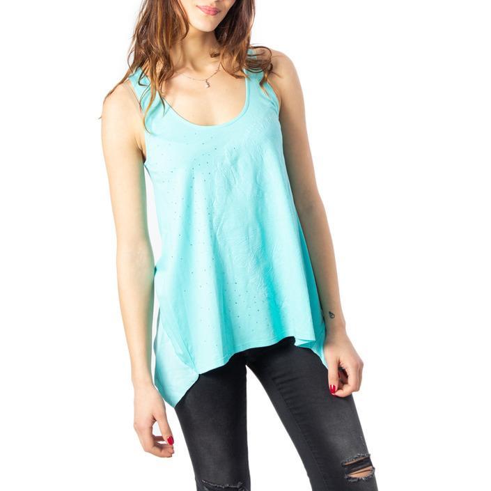 Desigual Women's Tank Top Turquoise 170463 - turquoise XS