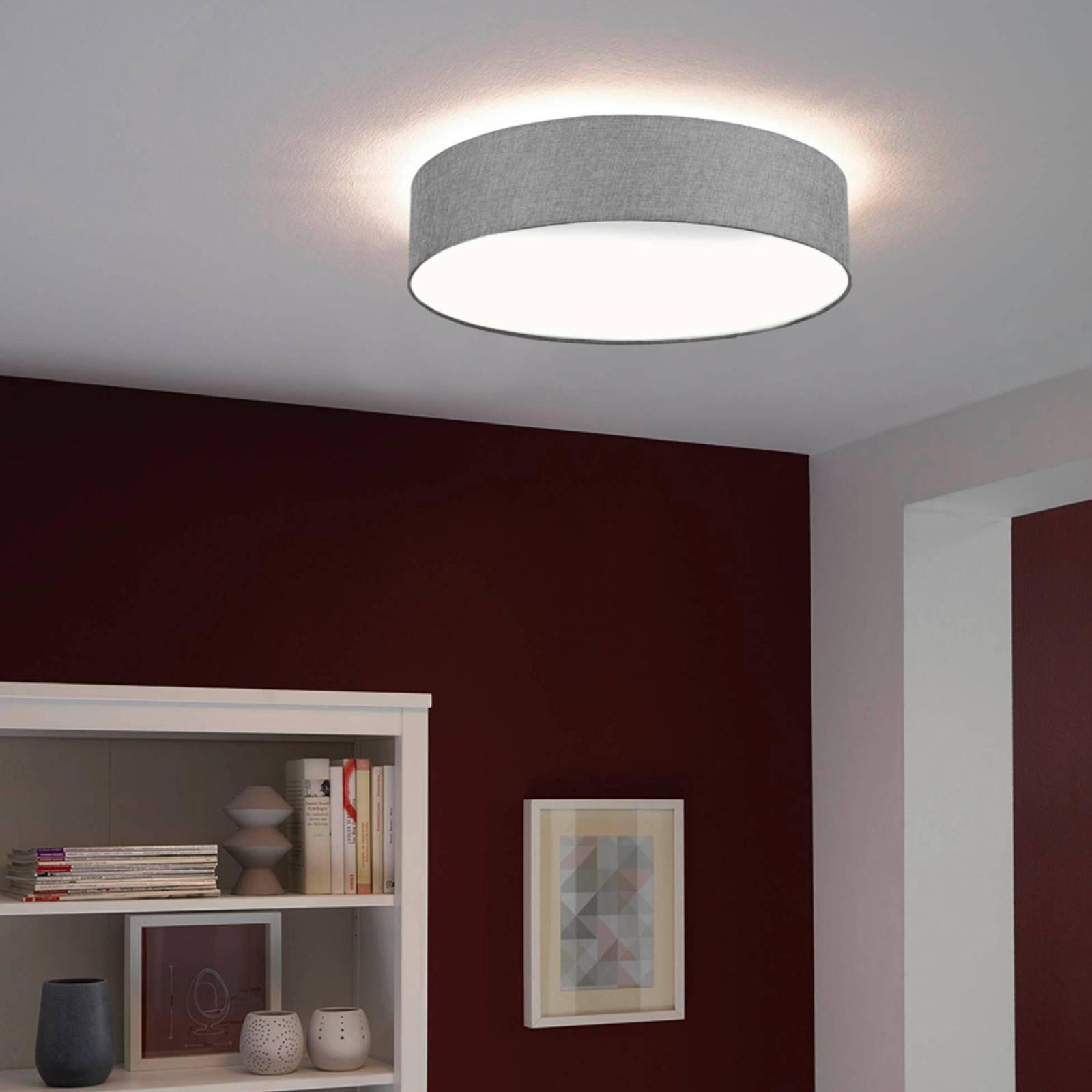 EGLO connect Ramao-C-LED-kattovalaisin harmaa 57cm