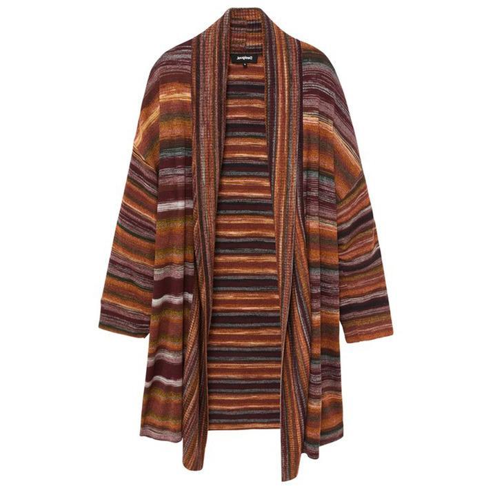 Desigual Women's Cardigan Multicolour 320284 - multicolor S