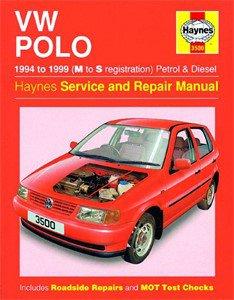 Haynes Reparationshandbok, VW Polo Hatchback Petrol & Diesel, Universal