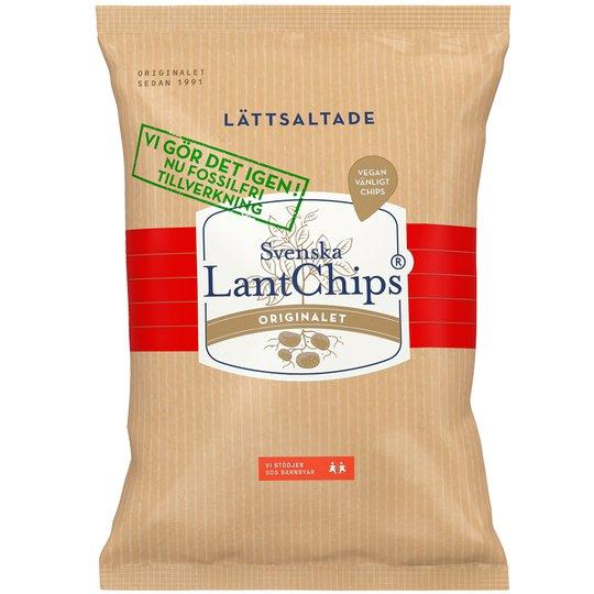 LantChips Lättsaltade - 25% rabatt