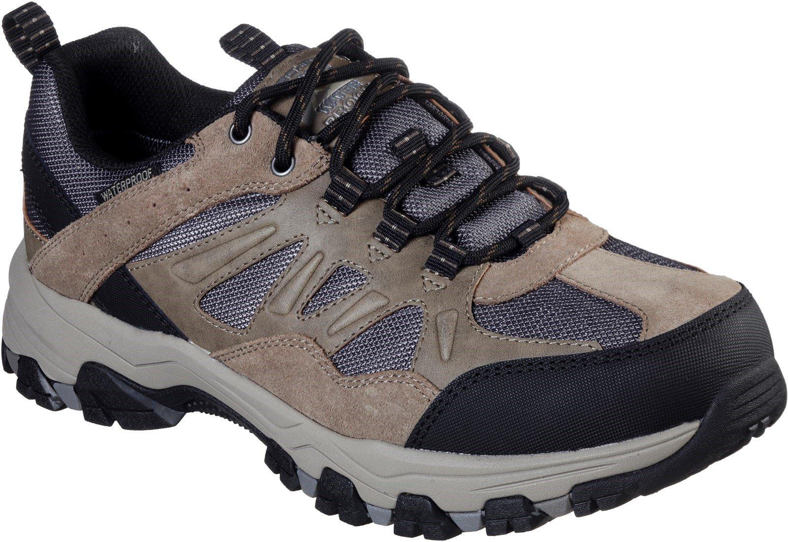 Skechers Men's Selmen Enago Lace Trainer Various Colours 31110 - Tan 6