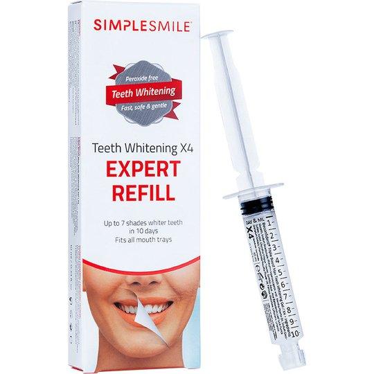 SIMPLESMILE Teeth Whitening X4, 10 ml SimpleSmile Hampaiden valkaisu