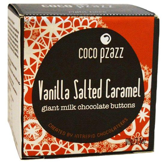 """Chokladplattor """"Vanilla Salted Caramell"""" 96g - 47% rabatt"""