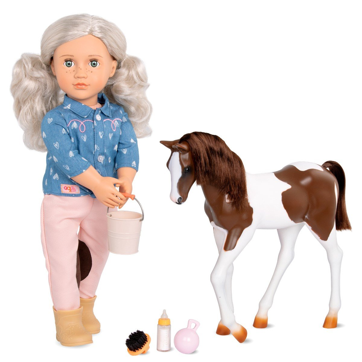 Our Generation - Yanara doll with Pet foal (731295)