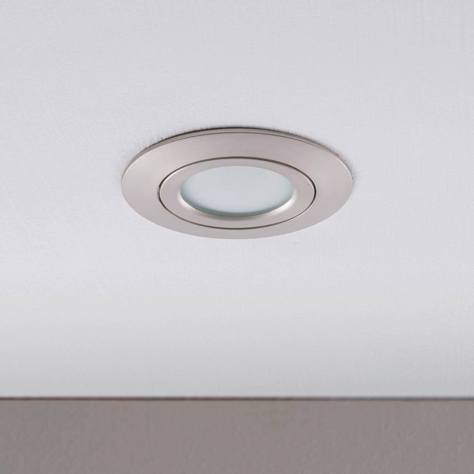 LED-kohdevalaisin Andrej, pyöreä, nikkeli
