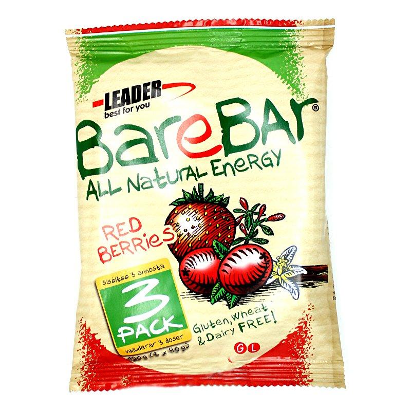 "Terveyspatukka ""Red Berries"" 3 x 40 g - 50% alennus"