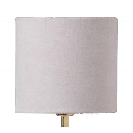 Sanna 17 cm lampeskjerm - Pale pink