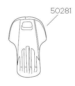 Plastnyckel 2B